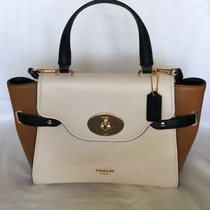 Coach Blake Flap Carryall in ColorBlock